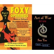 Foxy Chess Openings: Modern Defense Part 2 DVD & ChessCentral's 'Art of War' E-Book (2 Item Bundle)