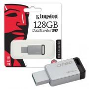 USB Flash Drive (Флашка) (128GB сребрист) Kingston DT50 USB 3.1