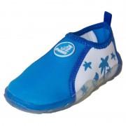 Pantofi de plaja si apa copii, masura 23, bleu