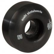 Set 4 Roti Skateboard Sushi Pagoda 51mm/99A negre