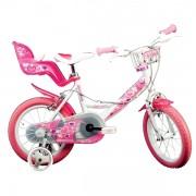 Bicicleta pentru fetite cu diametru 14 inch 144RN