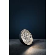 Catellani & Smith Stchu-Moon 01 Bodenleuchte Ø 40cm außen schwarz / innen silber