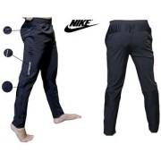 Nike Black Polyester Running Track Pant For Men
