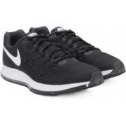 Nike AIR ZOOM PEGASUS Running Shoes(Black, White)