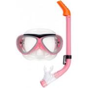Waimea Cyklop med snorkel rosa - Barn