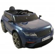 Carro Electrico Montable Con Control Azul Marino USB,Musica,Radio