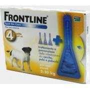 Frontline Spot Antiparassitario Per Cani Da 2 A 10 Kg (4 Pipette)