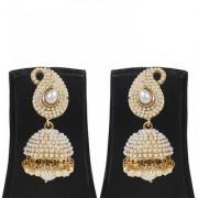 Penny Jewels Alloy Party Wear Wedding Stylish Jhumki Earring Set For Women Girls