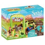Playmobil Spirit II, Grajd si copil cu morcovi