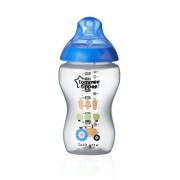Tommee Tippee C2N 3m+ 340 ml kojenecká láhev 1 ks modrá