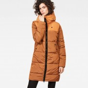 G-Star RAW Whistler Hooded Quilted Slim Long Coat