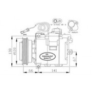 Compresor Climatizare Nrf 32104 57925