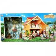 Декоративна детска къщичка за игра Happy Family, 510113291