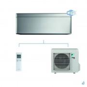 DAIKIN climatisation mono split mural gaz R32 Stylish Silver FTXA-AS 4.2kW WiFi FTXA42AS RXA42A A++
