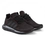adidas Originals Swift Run Sneakers Svart Barnskor 38 2/3 (UK 5.5)