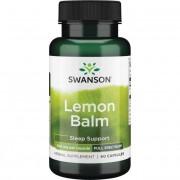 Swanson Melisa Lekarska (Lemon Balm) 500 mg 60 kapsułek