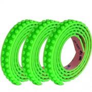 SuSenGo 3 Rolls Green 9.8Feet/3meter Loops Building Block Tape Roll Self-Adhesive
