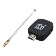 Mini Micro Usb Dvb-T Sintonizador Hd Tv Satélite Digital+Antena Recept