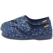 Pantoufles pour femme - bleu - 39