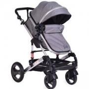 Детска количка с трансформиращ се кош Gala, тъмносив, 356193