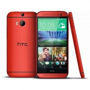 HTC One M8 32 Go Rouge