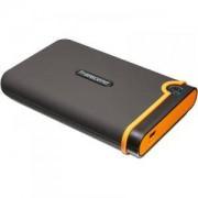 Външен твърд диск Transcend StoreJet 2.5' 500GB(SATA, Rubber Case, Anti-Shock) - TS500GSJ25M2