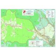 Harta Comunei - Margineni BC șipci de lemn
