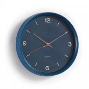 Kave Home Reloj de pared Diya azul