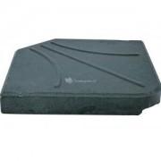 Express Kruisvoet betontegel 25 kg zwart