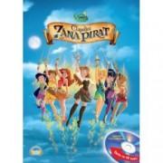 Disney Audiobook. Clopotica si zana pirat Carte + CD