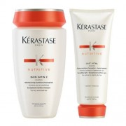 Kerastase Duo Nutritive Bain Satin 2 and Lait Vital 1 x 250ml and 1 x 200ml
