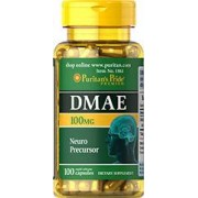 vitanatural dmae 100 mg 100 kapslar