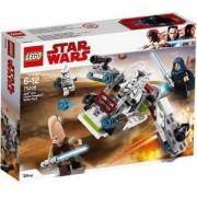 Конструктор Лего Стар Уорс - Боен пакет Jedi и Clone Troopers, LEGO Star Wars 75206