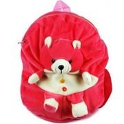 Teddy School Bag for Nursery Kids Age 2 to 5 Waterproof Plush Bag Backpack