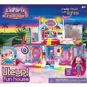 Cra-Z-Art Lite Brix Lite Up Fun House Building Set