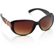 Van Heusen Over-sized Sunglasses(Brown)