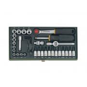 PROXXON Steeksleutelset 1/4 inch (36-delig) PROXXON /