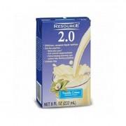 Resource 2.0 Delicious Complete Vanilla Creme Flavor 8 oz. Brik Pak Part No. 18010000 Qty Per Case