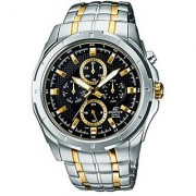 Casio Quartz Black Round Men Watch ED377