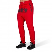 Gorilla Wear Alabama Drop Crotch Joggingbroek - Rood - 4XL