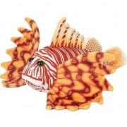 Nature Plush Planet Oranje koraalduivel vissen knuffels 21 cm knuffeldieren