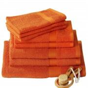 CARO-Möbel Handtuch PACO in orange 50 x 100 cm