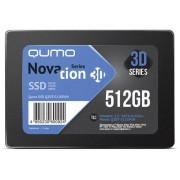 Жесткий диск Qumo Novation TLC 3D SSD 512Gb Q3DT-512GPGN
