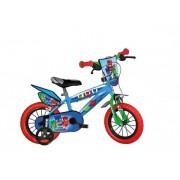 "Bicicleta copii DINO BIKES 414U-PJ, Roti 14"", EROII IN PIJAMA"