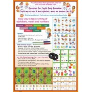 Essentials for Early Learning (Set B): Joyful way to Trace & Learn Alphabets, Words and Numbers