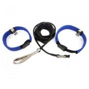 StrechCordz Aqua-Gym Long-Belt, Geel, treksterkte 2,2-6,3 kg