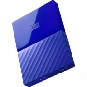 Външен диск HDD 3TB USB 3.0 MyPassport, Син, WDBYFT0030BBL