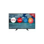 "Smart TV LED 55"" TC-55EX600B Panasonic, 4K HDMI USB com Função Ultra Vivid e Wi-Fi Integrado"
