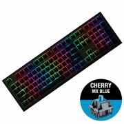 KBD, Ducky Shine 7, Gaming, Механична, RGB, Cherry MX Blue, USB, Gunmetal Gray (1808-CUSPDAHT1)