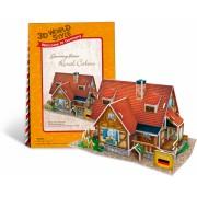 Puzzle 3D CubicFun CBFB Casa rurala Germania